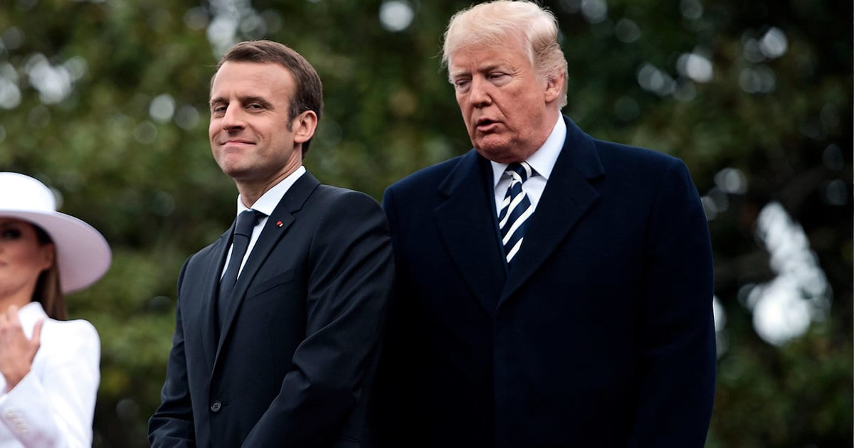 Trump's Meeting With Macron Delights Twitter: Every Weird, Uncomfortable and Unintentionally Hilarious Moment