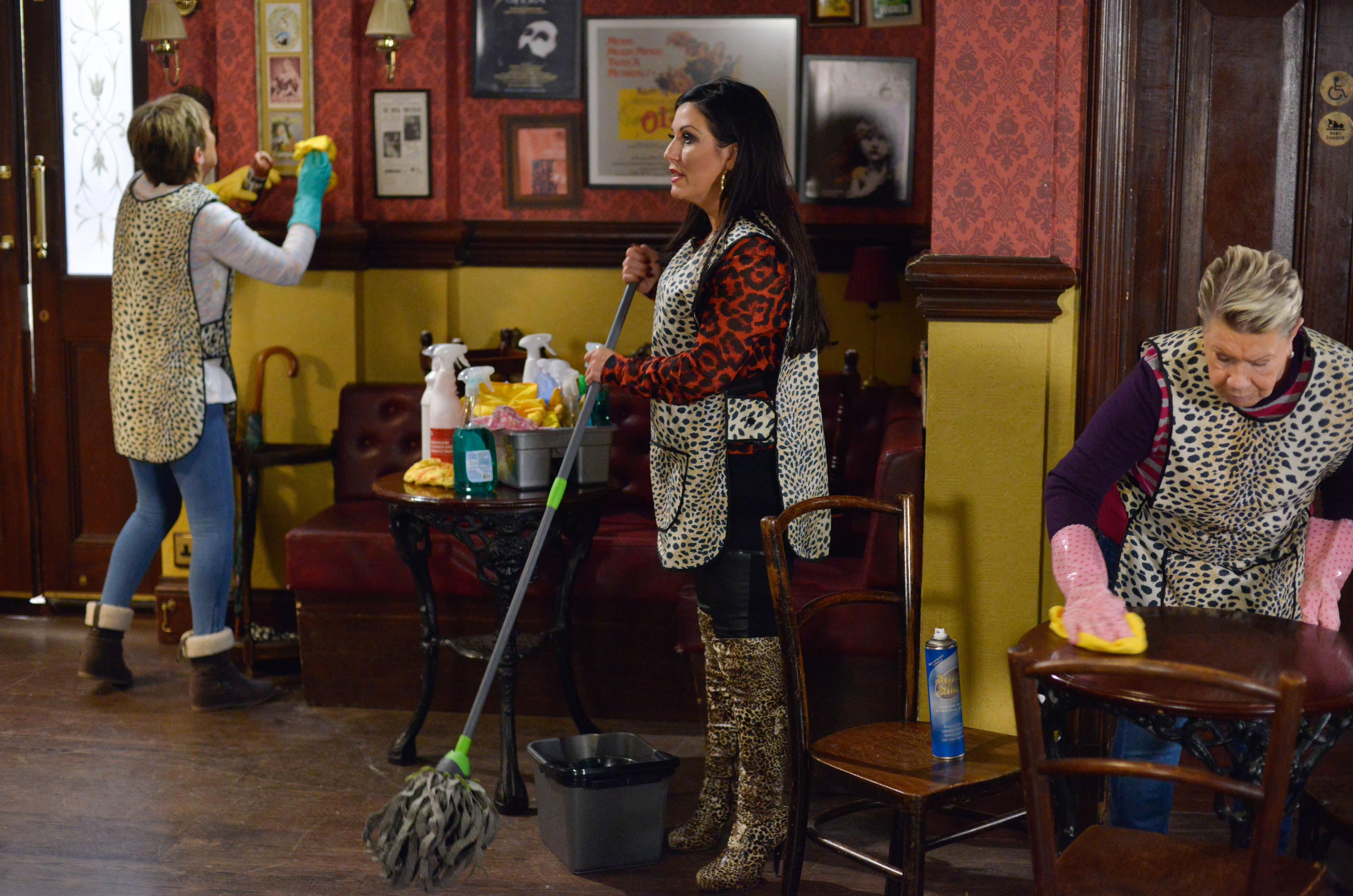 SPOILER ALERT – EastEnders' Kat is left to clean up a messy situation