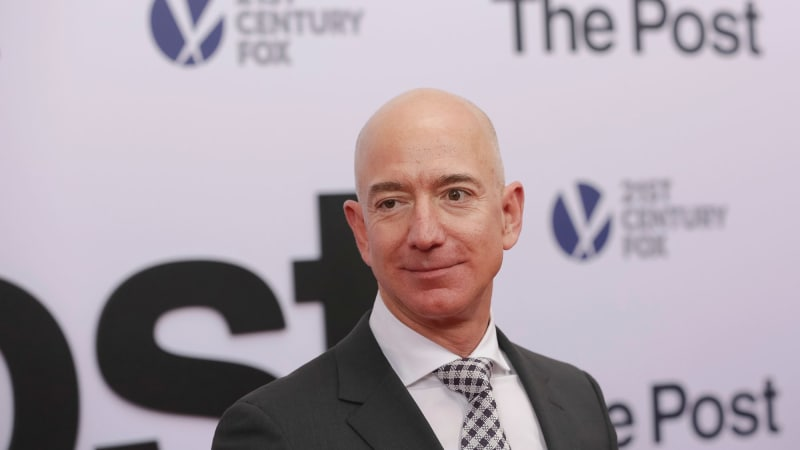 Trump tweets about Amazon: 6. Trump mentions in Bezos letter: 0