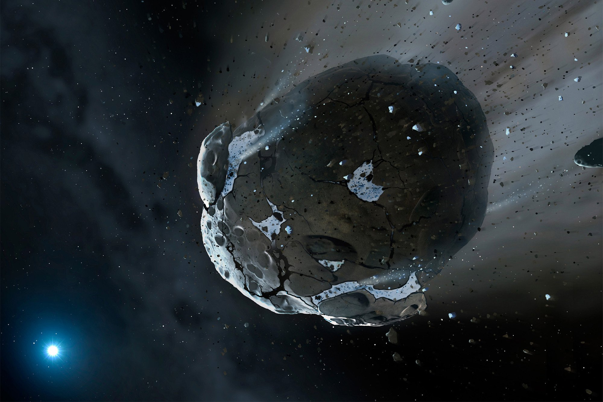 Goldman predicts the world's first trillionaire will mine asteroids