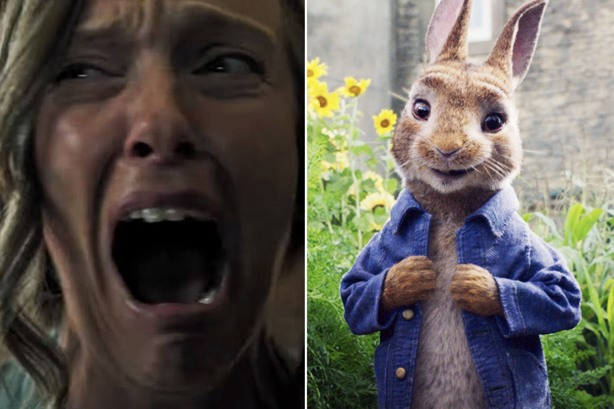 Kids traumatized by horror movie trailer at 'Peter Rabbit' showing