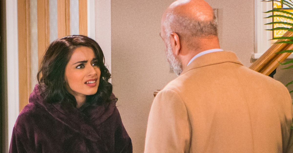 Rana receives shock blow that may destroy her relationship with Kate in Corrie