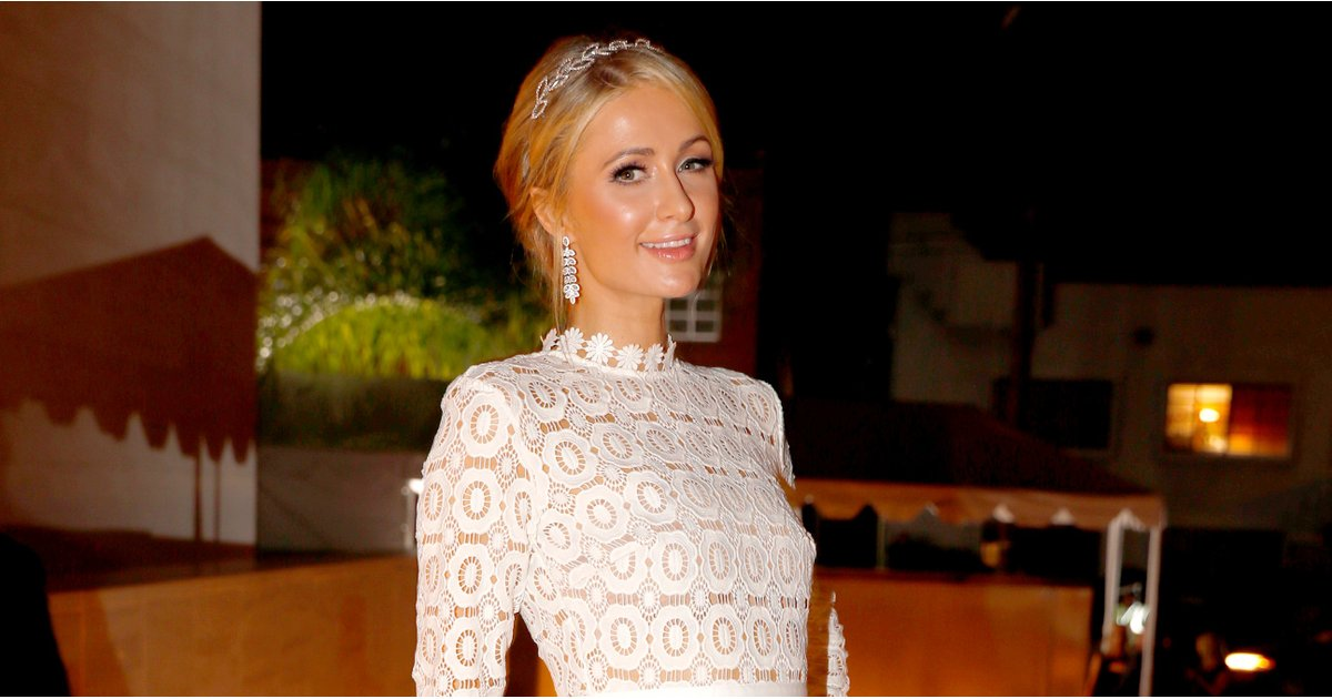 """Paris Hilton Already Found Her Wedding Dress, and She Promises """"It Is So Iconic"""""""
