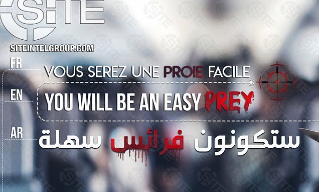 ISIS warn plane passengers 'you will be easy prey'