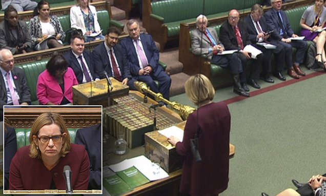 QUENTIN LETTS: Amber Rudd looked drawn, but she wasn't quartered