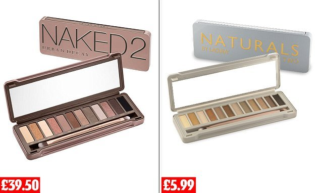 Aldi takes on cult beauty brand Urban Decay with copycat palettes