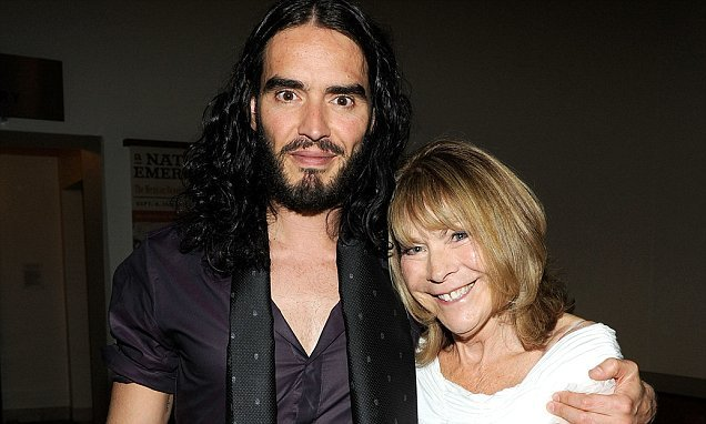 Russell Brand's 71-year-old mother is involved in a hit-and-run crash