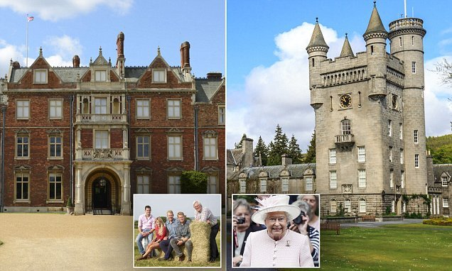 BBC's Countryfile is granted access to the Queen's royal residences