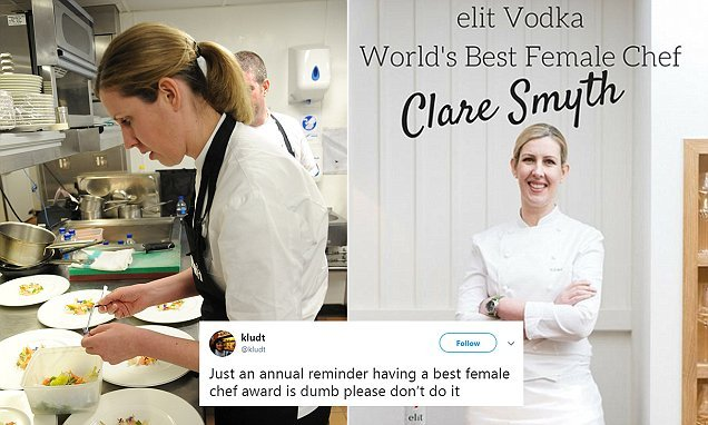 British star Clare Smyth is crowned the world's BEST female chef