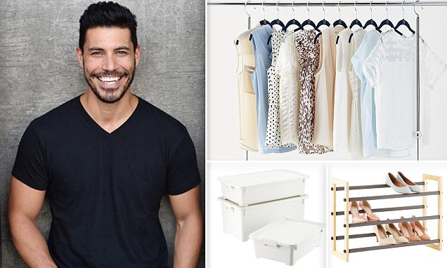 Hunky professional organizer Justin Klosky shares tips for cleaning