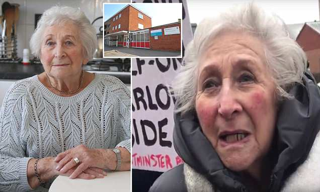 Grandmother, 89, is face of campaign to save GP surgery