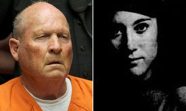 Pictured: Young lab assistant who dumped the 'Golden State Killer'