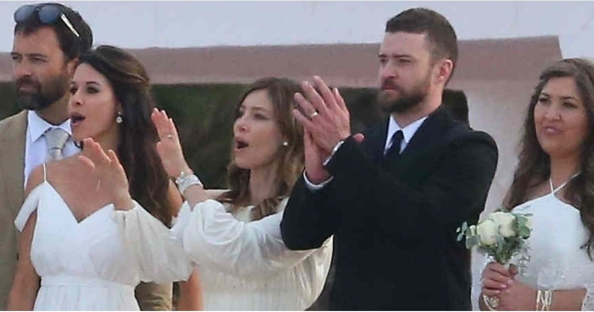 Jessica Biel Wore a White Dress to Her Brother's Wedding, and She Looked Like an Actual Angel