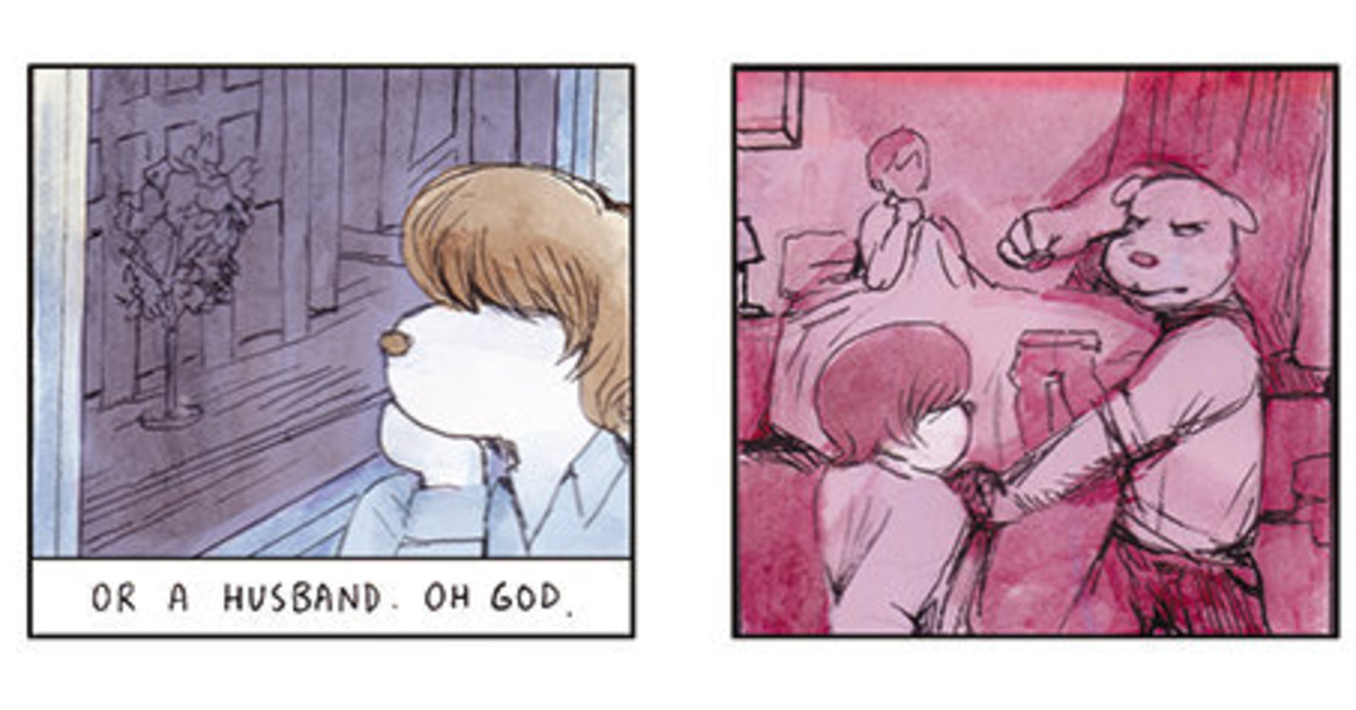 How A Graphic Novel About A Dog Tells A Groundbreaking Story Of Trans Sex Work