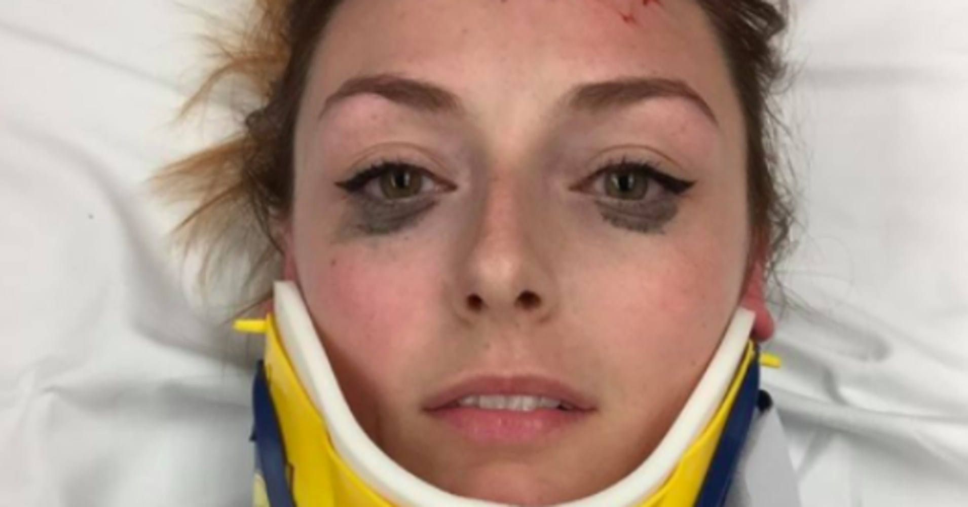 Woman Posts Hilarious Review Of Eyeliner That 'Didn't Budge' Despite Car Accident