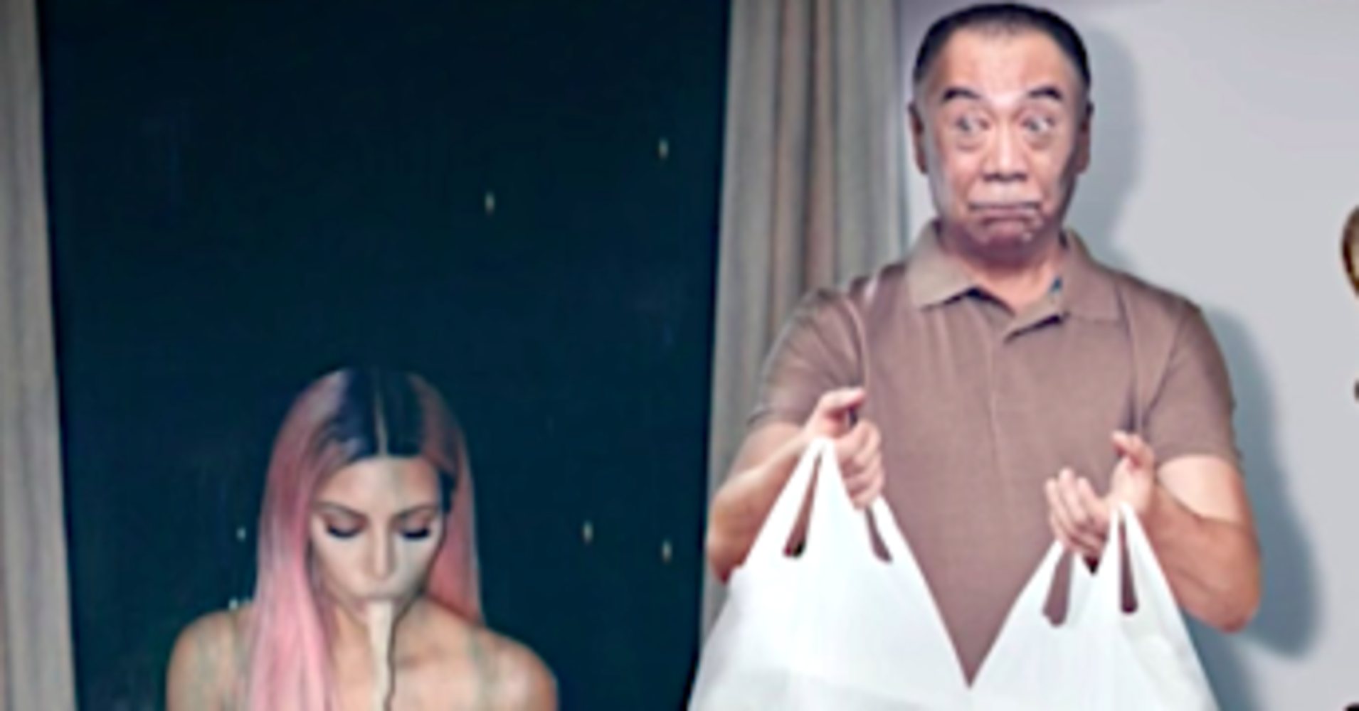 James Corden Gag Shows What's Really Going On In Celebrity Instagrams
