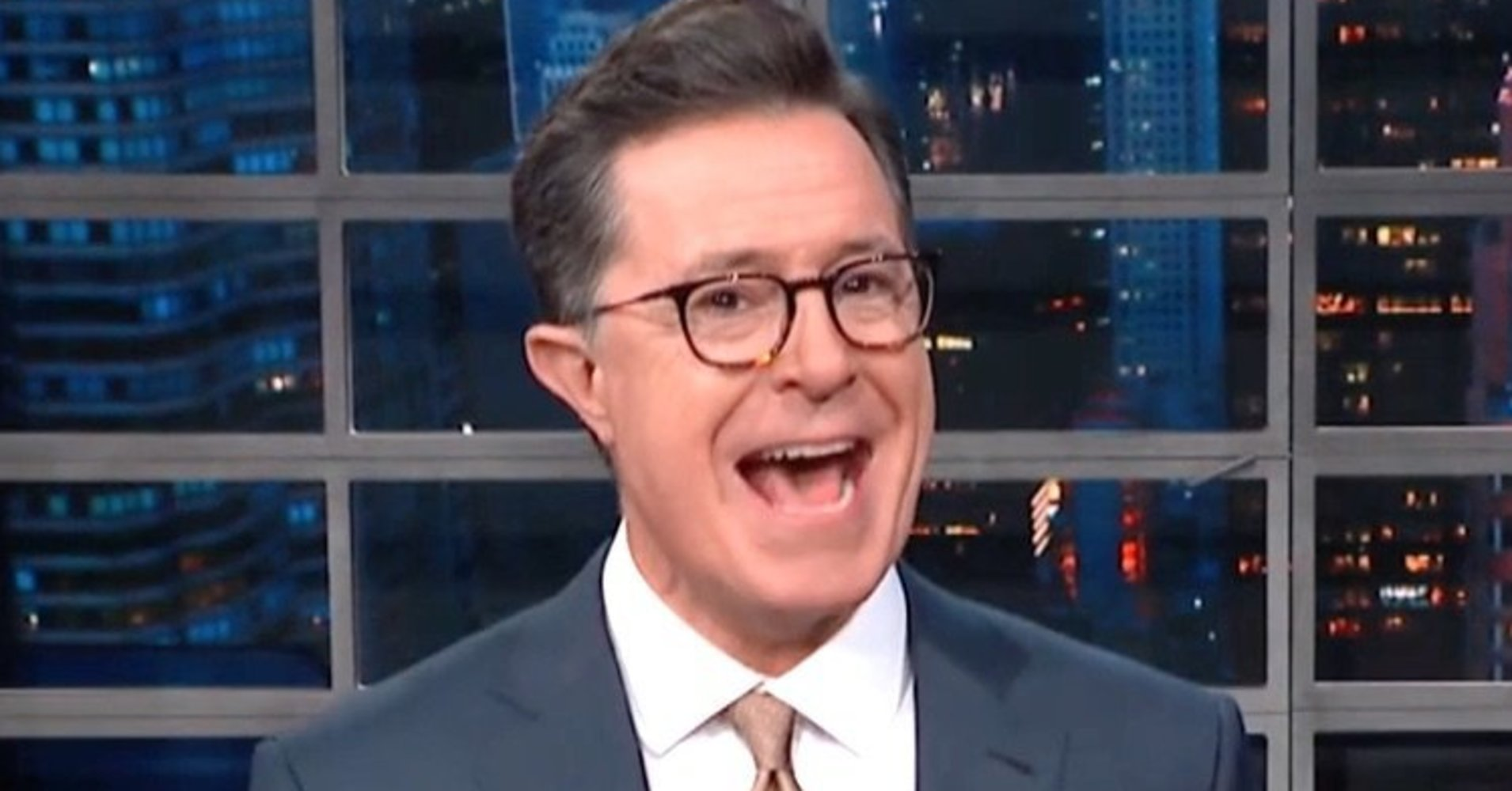 Colbert Nails Exactly Why Trump Is Sticking With His 'Candyman' White House Doc