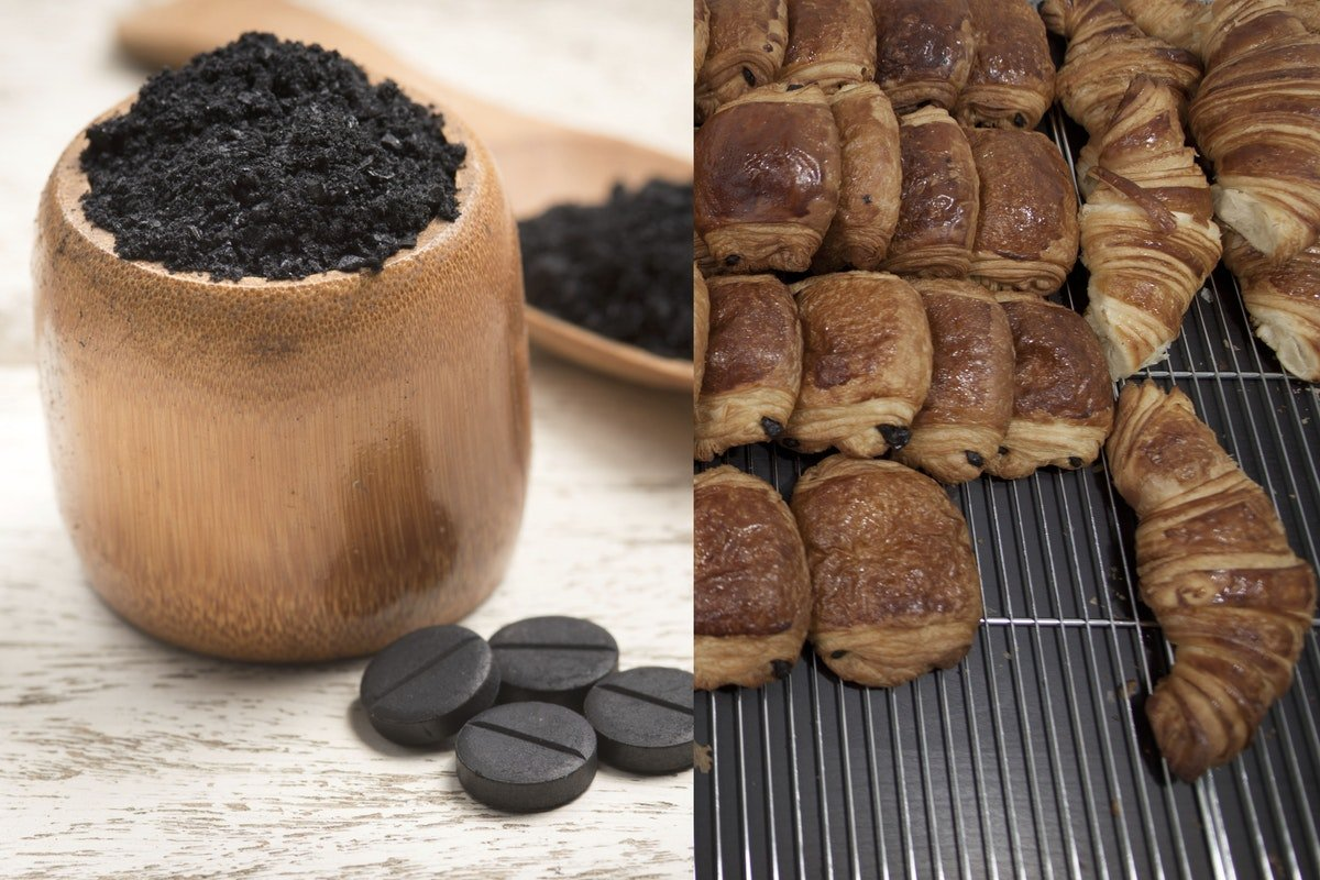 These Activated Charcoal Croissants Are Tearing The Internet Apart