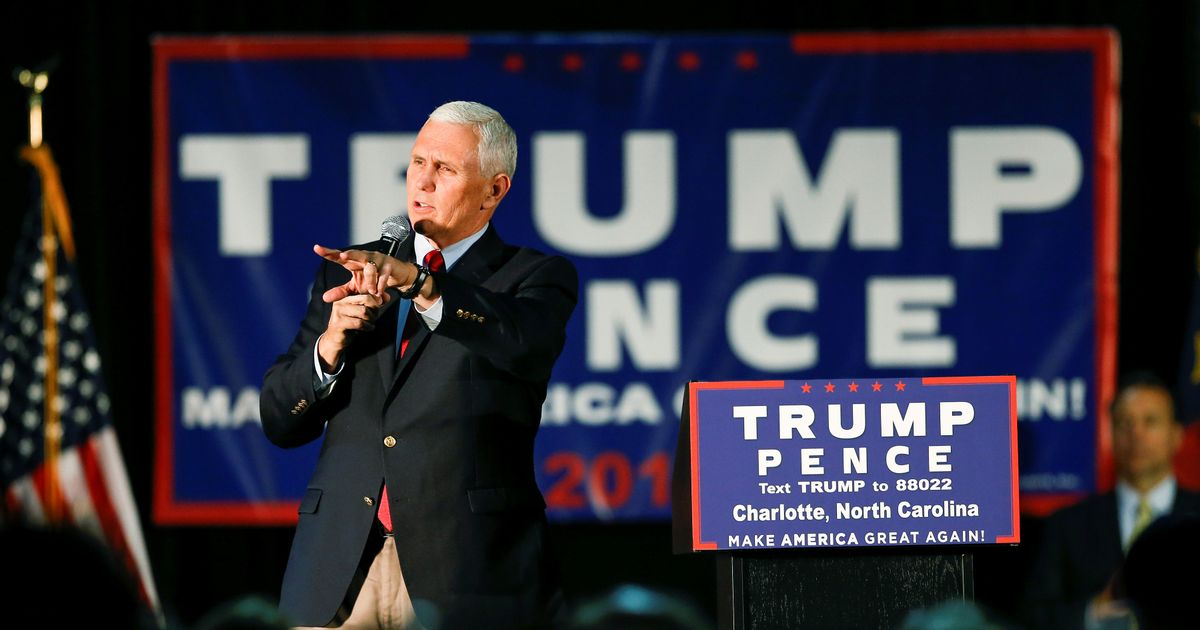 Gun rights group the NRA slammed as hypocrites over ban at Mike Pence speech