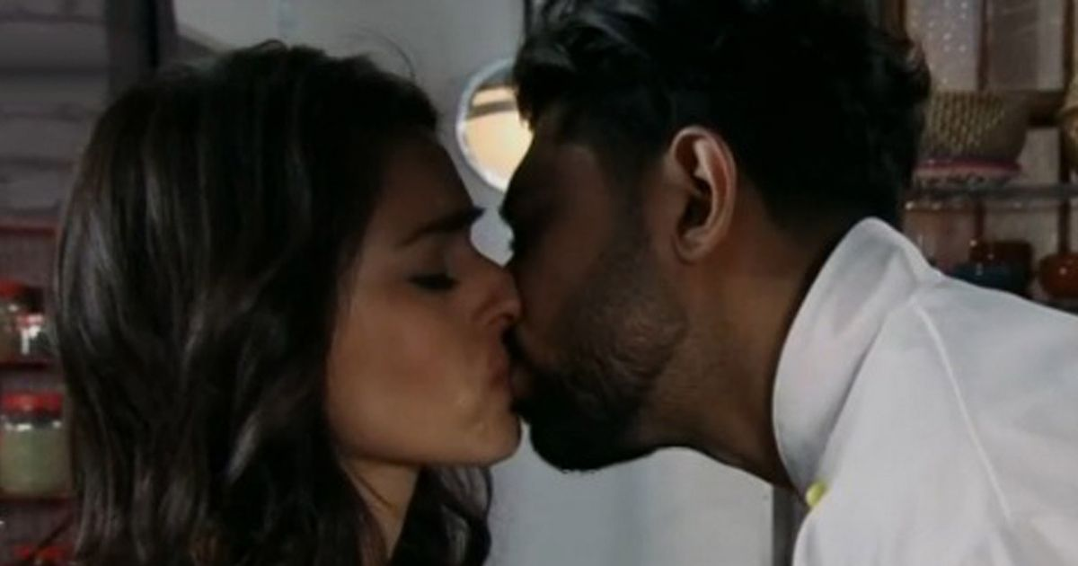 Corrie fans furious as Rana kisses husband Zeedan after row with Kate