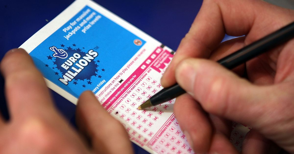Winning numbers for Friday's £14million EuroMillions jackpot