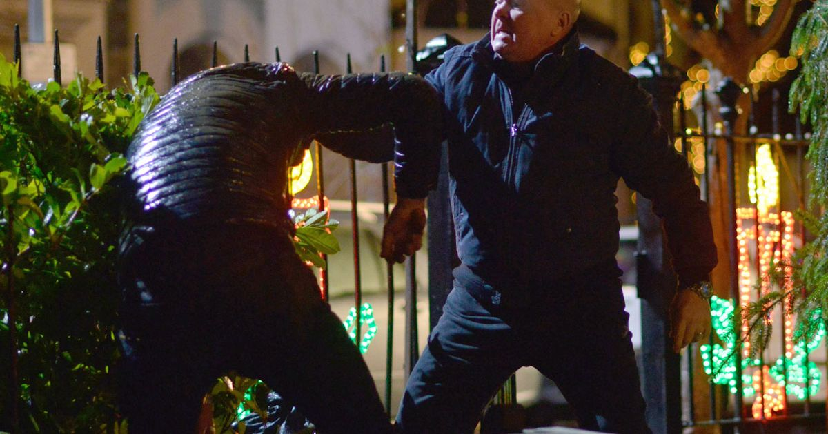 Nasty EastEnders feud for Max Branning and Phil Mitchell as hardman gets revenge