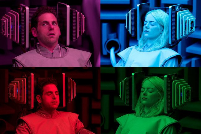 Here's The First Look At Emma Stone And Jonah Hill's Trippy Netflix Series, 'Maniac'