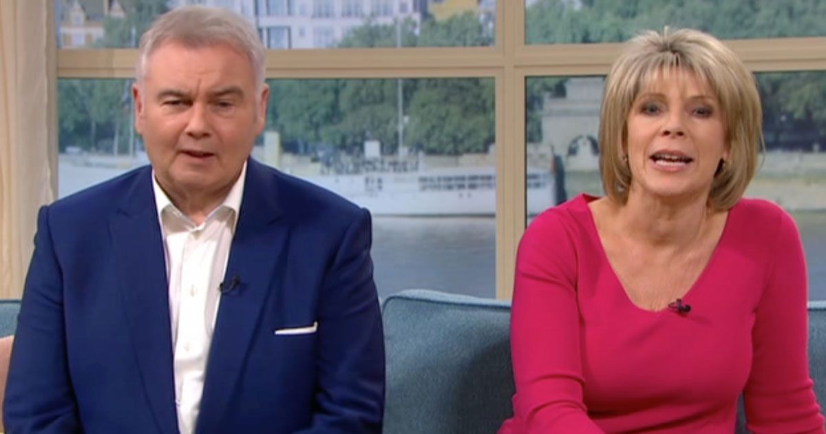 Jet-lagged Eamonn Holmes throws a 'strop' on This Morning as Ruth 'mocks him'