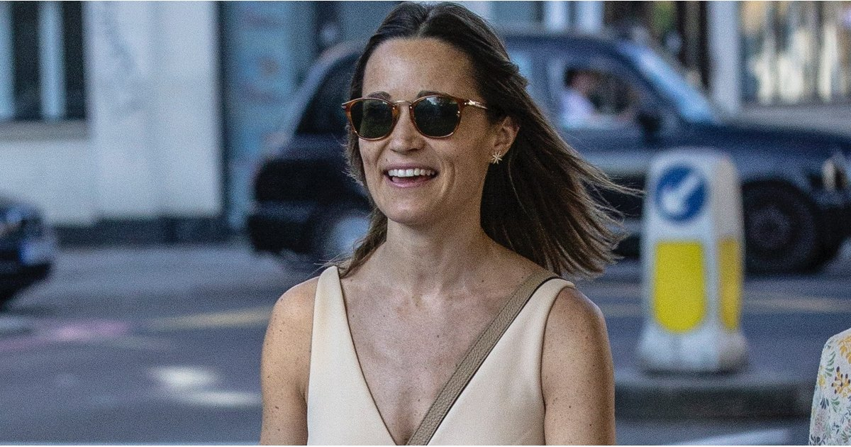 Pippa Middleton's Not Wearing a Maternity Jumpsuit Just Yet — but It Is Damn Cute