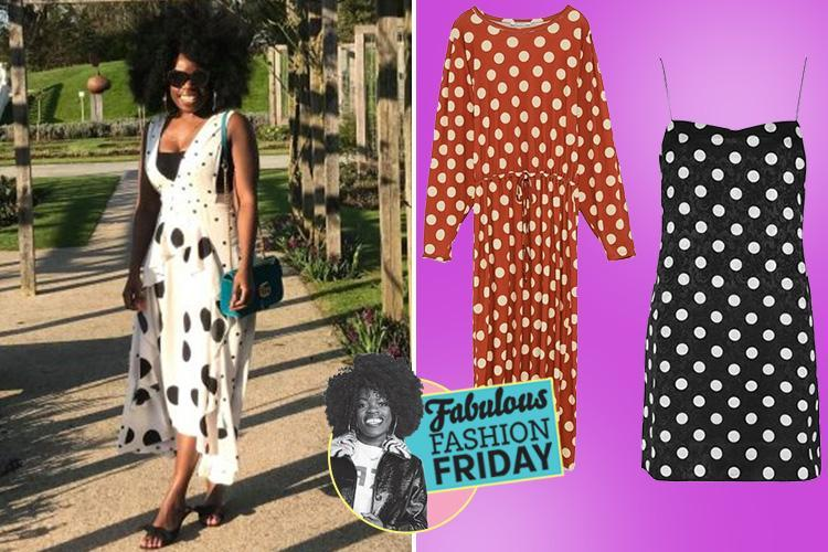 H&M's sexy new Moschino collaboration and polka dot dresses, what we're loving this week