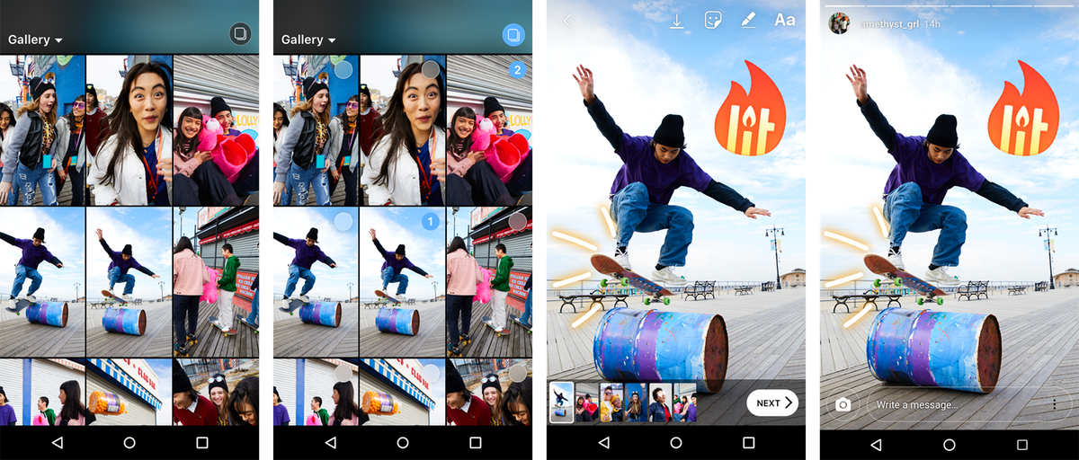 Instagram Just Made It SUPER Easy To Upload Multiple Photos To Stories At Once