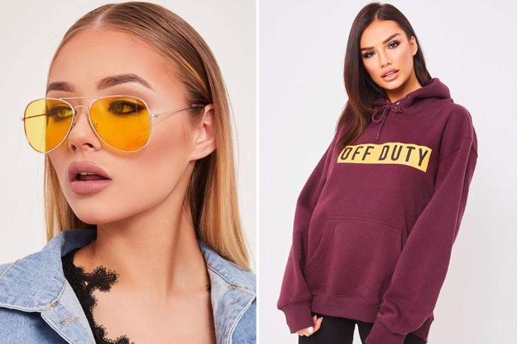 Now clothing brand Miss Pap has launched a category just for airport outfits . . . and prices start at £5