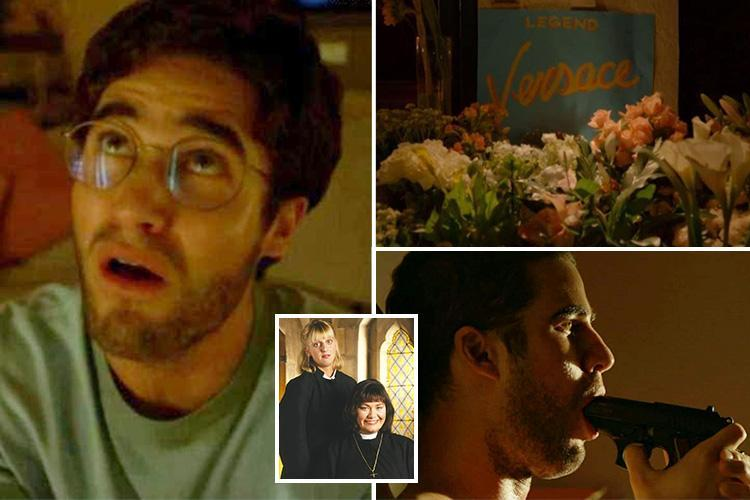 The Assassination of Gianni Versace viewers left confused as Vicar Of Dibley theme tune is played at fashion designer's funeral before dramatic ending