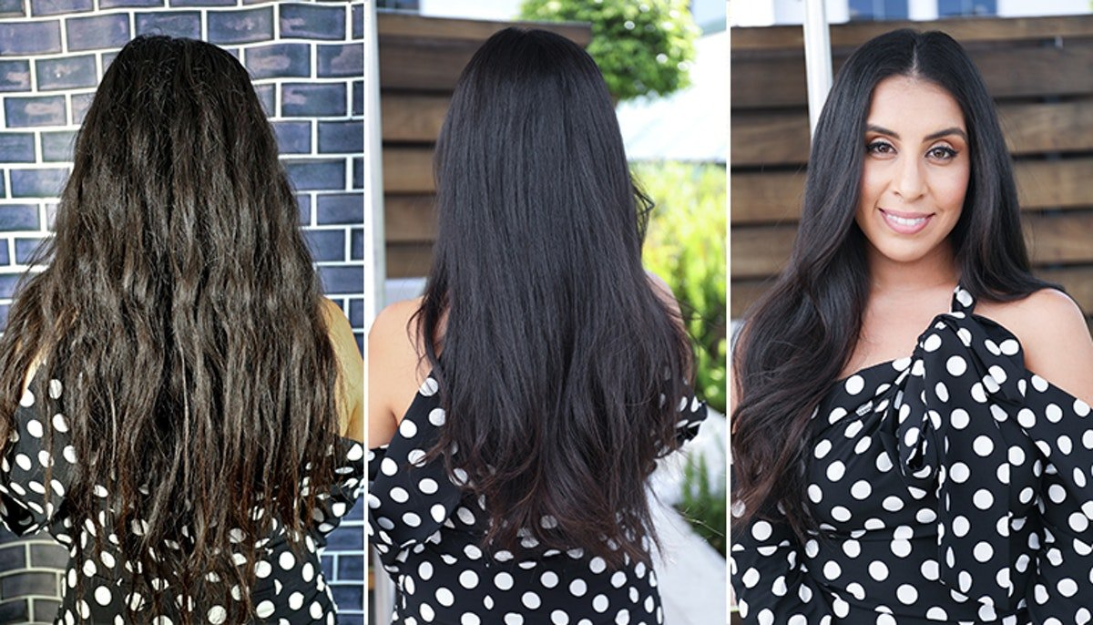 """I Tried A Completely """"Dry"""" Haircut & My Hair Looks Almost Longer Than Before"""