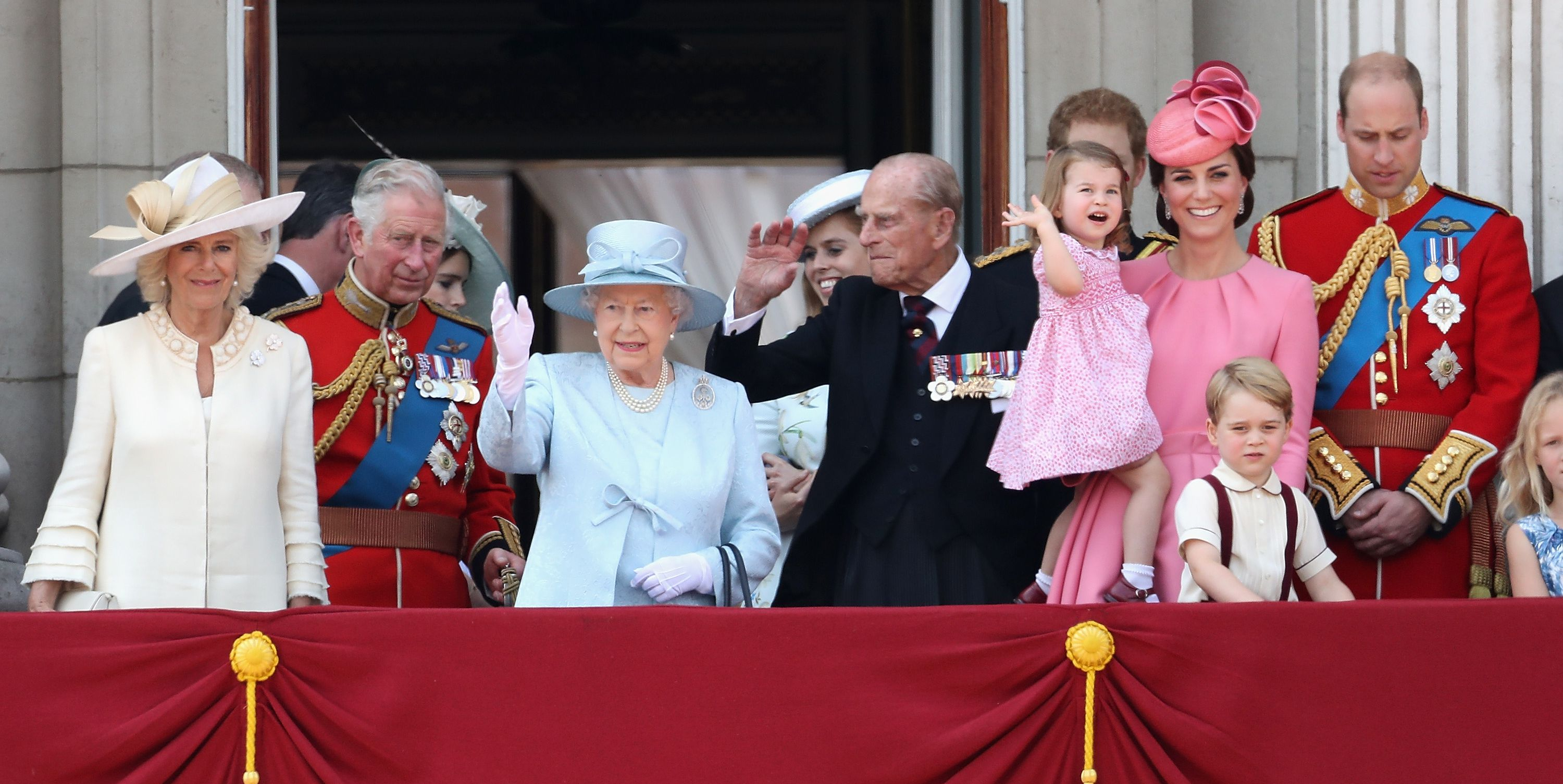 The Next 25 Royals in Line For the British Throne