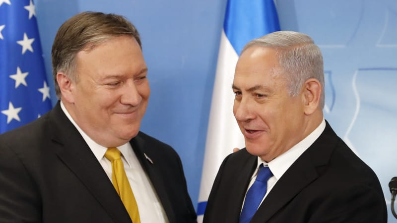Pompeo says US stands with Israelis and Saudis against Iran