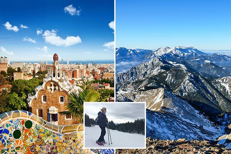 Get the buzz with a city trip to Barcelona then go skiing in the Pyrenees in fresh mountain air