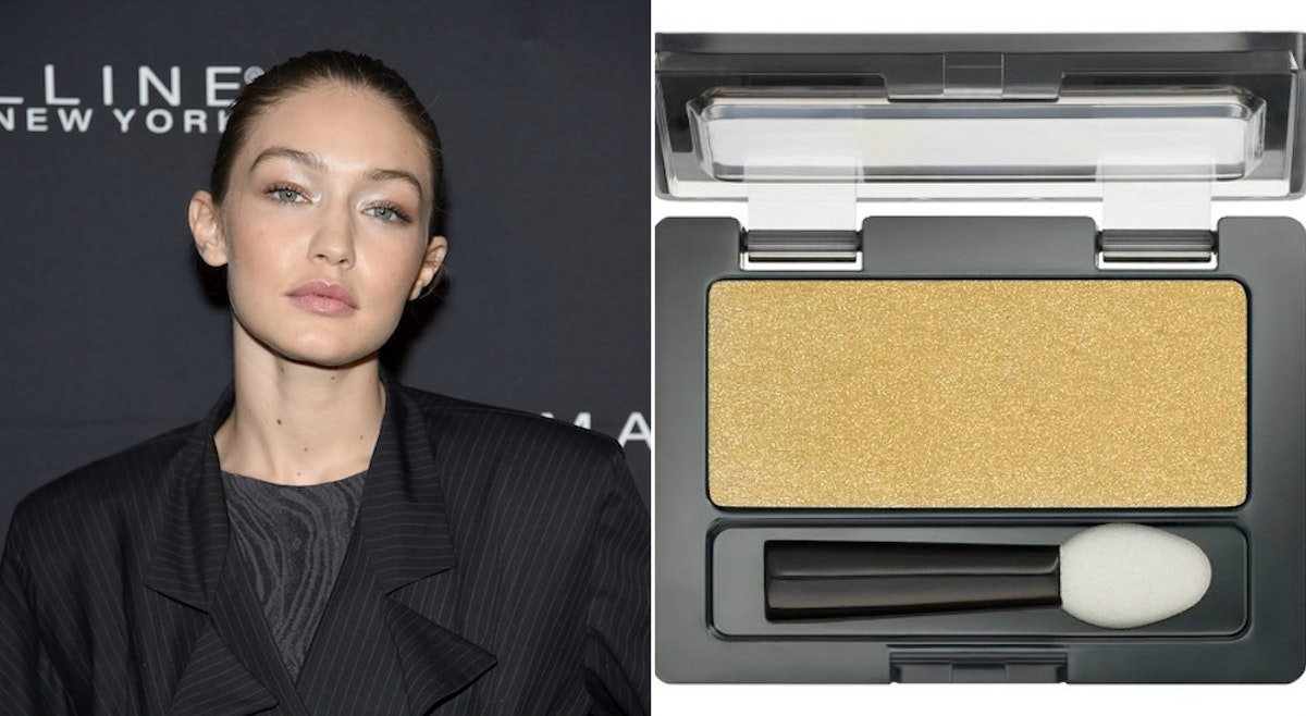 Gigi Hadid's Golden Birthday Makeup Look Used A $3 Eyeshadow, So You Can Sparkle For Cheap