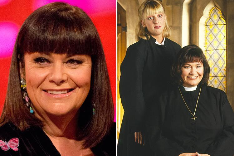 Dawn French has not quit TV or comedy amid false rumours she has 'no roles lined up'