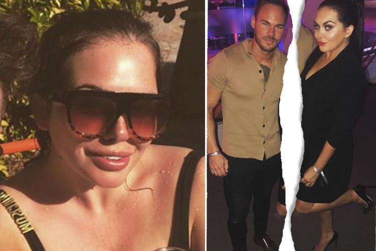 Scarlett Moffatt's ex-boyfriend begs her to take him back after she returns from holiday to Florida
