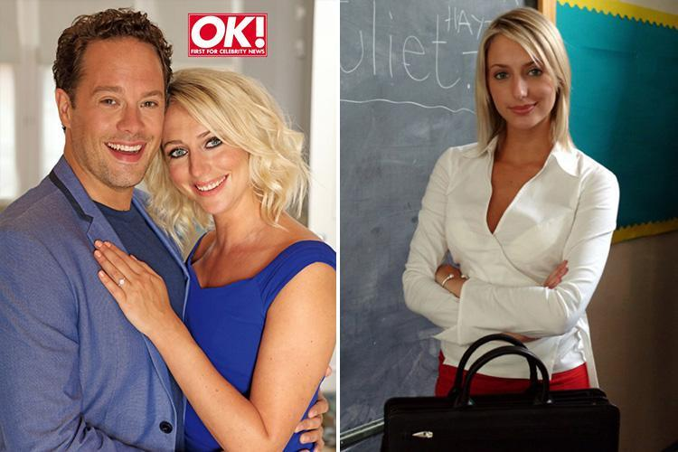 Former Hollyoaks star Ali Bastian gets engaged to boyfriend David after just 18 months – after he reveals he had her poster on his wall at uni