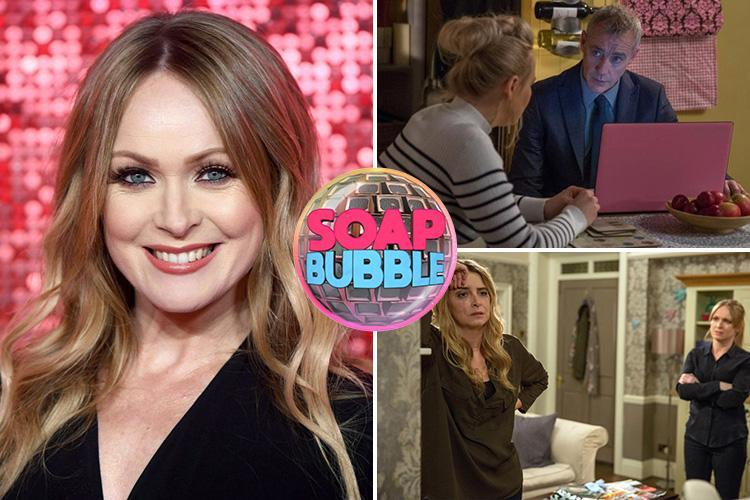 Emmerdale's Vanessa Woodfield could kill rapist DI Bails to protect girlfriend Charity Dingle and sister Tracy Metcalfe reveals Michelle Hardwick