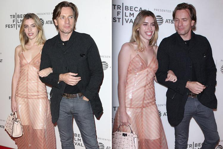 Ewan McGregor's daughter blasted by cruel trolls and called 'Judas' after posing with him on the red carpet for the first time since he filed for divorce
