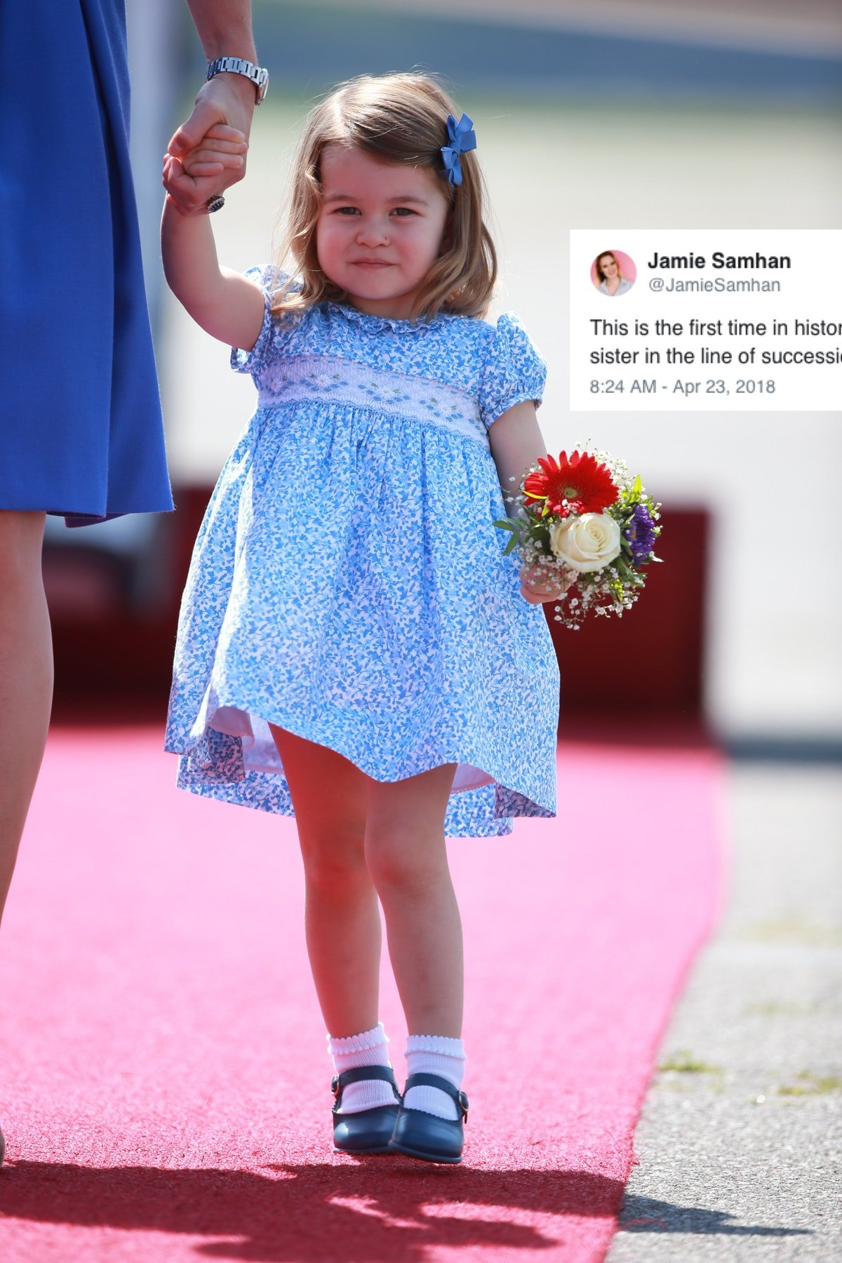 Princess Charlotte Just Made History & She Probably Doesn't Even Know It