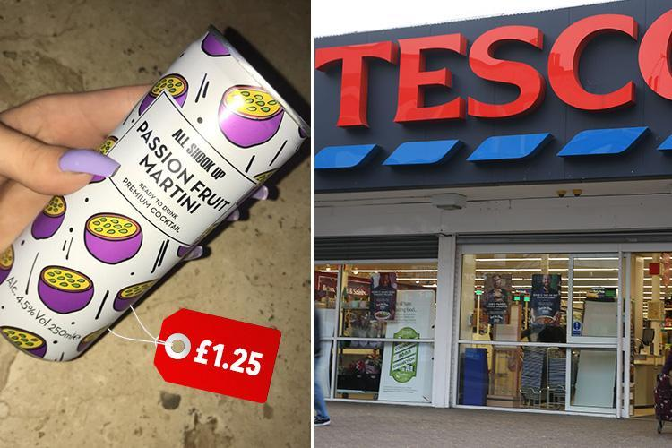 Tesco now sells a porn star martini in a can – and people are loving it