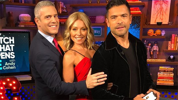 Kelly Ripa & Mark Consuelos Admit To Wanting 3-Somes With Cardi B, The Rock & More on 'WHHL'