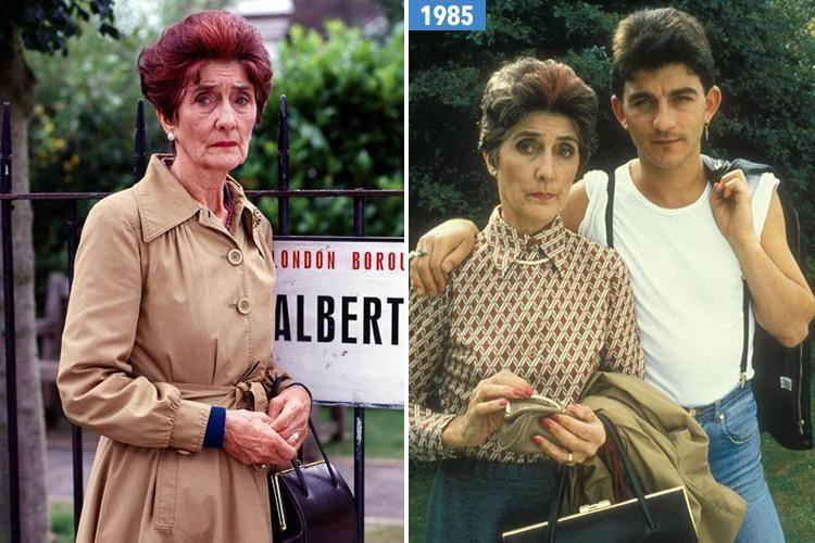 June Brown, 91, pledges future to EastEnders as she signs new contract to continue playing Dot Cotton