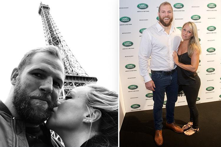 Chloe Madeley reveals she nearly split from James Haskell during trip to Paris – that ended with him proposing