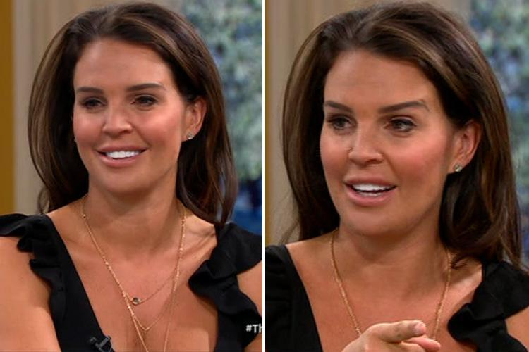 Danielle Lloyd reveals she used to wet herself before getting a designer vagina to cure her incontinence