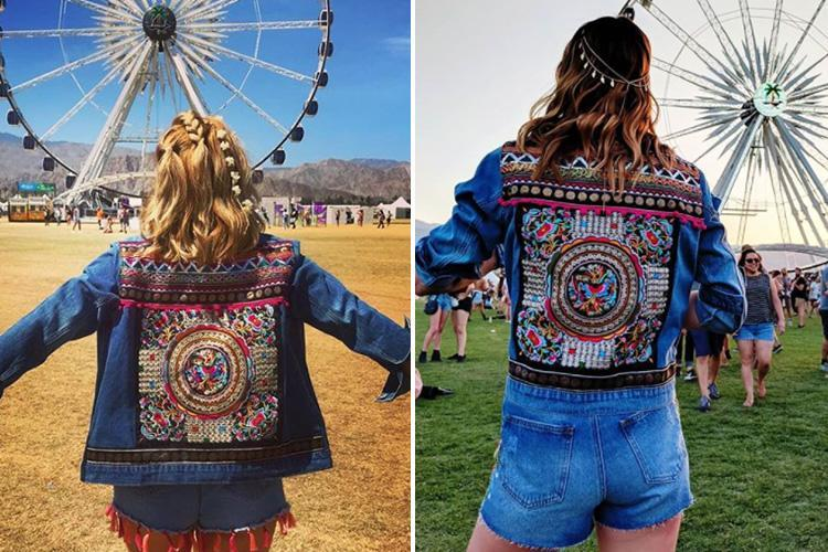 Primark is selling a £35 embellished denim jacket which is perfect for your next festival… and Stacey Solomon just wore it to Coachella
